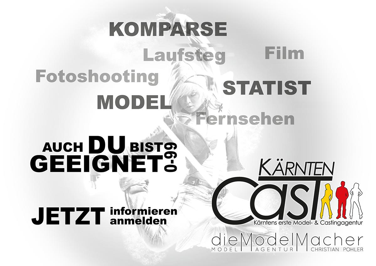 KärntenCast dieModelMacher Flyer